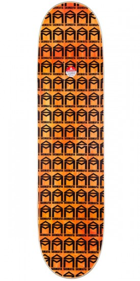 Sk8Mafia Jimmy Cao Toe Up Skateboard Deck - 8.00""