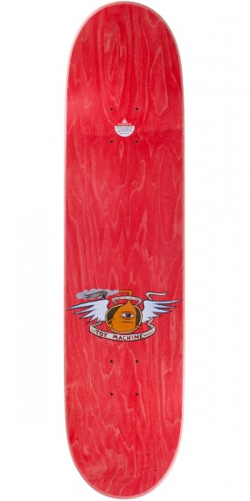 Toy Machine Fists Skateboard Complete - Red Stain - 7.75""