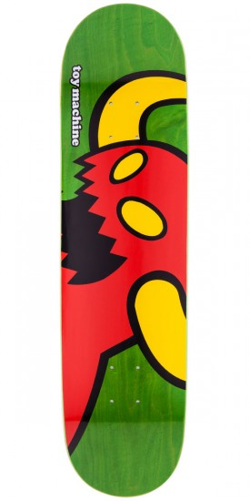 """Toy Machine Vice Monster Skateboard Deck - Green Stain - 8.125"""""""