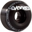 Daddies Board Shop Well Skateboard Wheels 54mm 101a - Black
