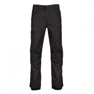 686 Raw Insulated Snowboard Pants - Black Denim