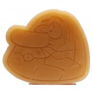 Almost Captain Caveman Cream Skate Wax - Brown