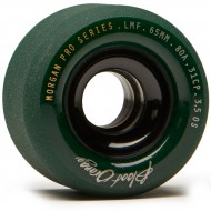 Blood Orange Liam Morgan Formula Longboard Wheels - 65mm 80a - Forest Green
