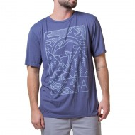 Arbor Campsite T-Shirt - Nightshadow