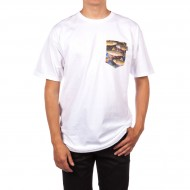Bohnam Space Trout Pocket T-Shirt - White
