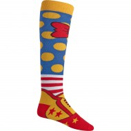 Burton Party Snowboard Socks - Clown Shoes