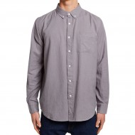 CCS Flannel Long Sleeve Shirt - Solid Grey