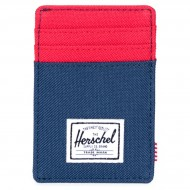 Herschel Raven Wallet - Navy/Red
