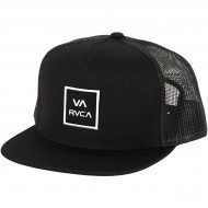 RVCA VA All The Way Trucker Hat - Black