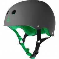 Triple Eight Brainsaver Skateboard Helmet - Carbon