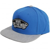 Vans Classic Patch Snapback Hat - Imperial Blue/Cement Heather