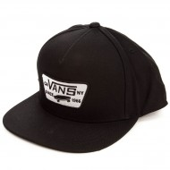 Vans Full Patch Snapback Hat - True Black