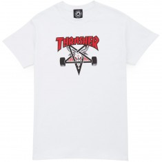 Thrasher Two-Tone Skategoat T-Shirt - White