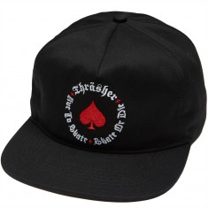 Thrasher Oath Snapback Hat - Black