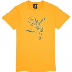 Thrasher KCUF T-Shirt - Gold