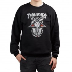 Thrasher Goddess Sweatshirt - Black