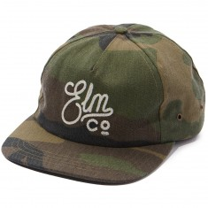 Elm Duzen Unstructured Trucker Hat - Camo
