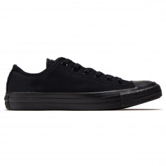 Converse Unisex Chuck Taylor All Star Ox Shoes - Black Monochrome