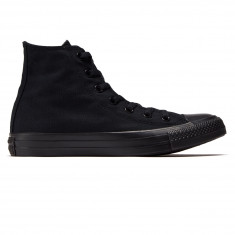Converse Unisex Chuck Taylor All Star Hi Shoes - Black Monochrome