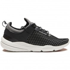 DVS Cinch Lt Plus Shoes - Black/Grey Knit