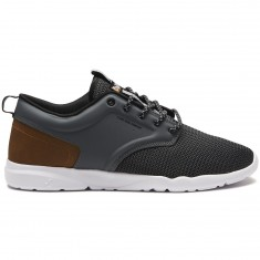 DVS Premiere 2.0 Plus Shoes - Charcoal/Brown Knit