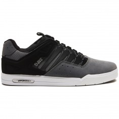 DVS Drop Plus Shoes - Charcoal Grey Suede