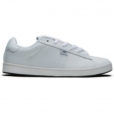 DVS Revival 2 Shoes - White Leather