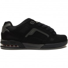 DVS Drone Plus Shoes - Black/Charcoal Nubuck