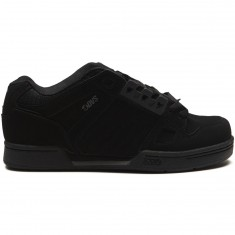 DVS Celsius Shoes - Black/Black Nubuck