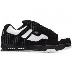DVS Enduro Heir Shoes - Black/White Pinstripe Nubuck