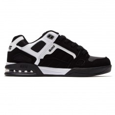 DVS Drone Plus Shoes - White/Black Nubuck