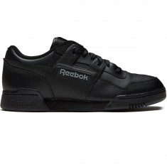 Reebok Workout Plus Shoes - Black/Charcoal
