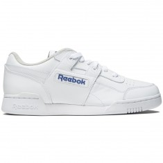 Reebok Workout Plus Shoes - White/Royal