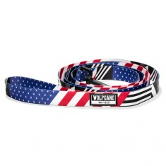 "Wolfgang Pledge Allegiance Leash - 5/8"" x 4'"