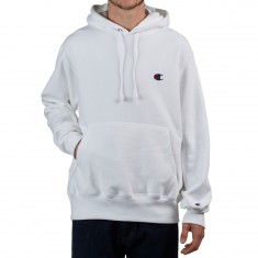 Champion Reverse Weave Pullover Hoodie - White