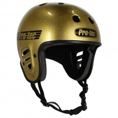 Protec Full Cut Certified Helmet - Gold Flake