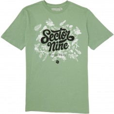 Sector 9 Tropics T-Shirt - Mint
