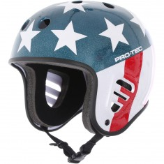 Pro Tec Full Cut Easy Rider Helmet - Black