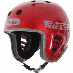 Pro Tec Full Cut Skate Helmet - Red Metal Flake