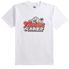 Never Summer Cold Mountain T-Shirt - White