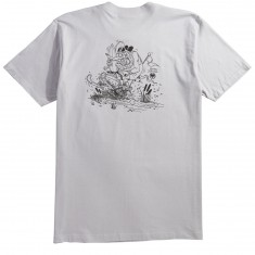 Never Summer Instagator T-Shirt - Silver