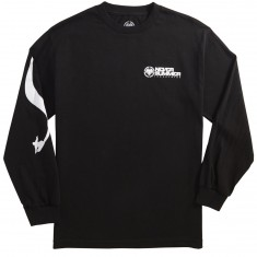 Never Summer Carve Long Sleeve T-Shirt - Black