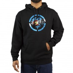 Never Summer Colorado Rugged Eagle Hoodie - Black