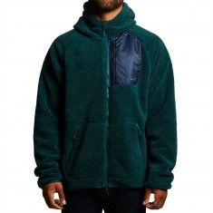 Nike SB Everett Full Zip Sherpa Hoodie - Dark Atomic Teal/Obsidian