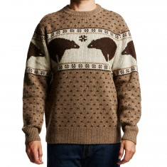 Pendleton Shetland Bear Sweater - Brown/Ivory Bear