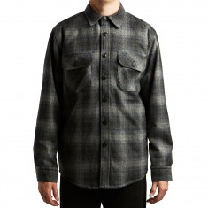 Pendleton Quilted CPO Jacket - Charcoal Grey Plaid