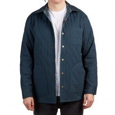 Pendleton Reversible Canvas Jacket - Navy/Indigo Plaid