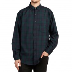 Pendleton Sir Pen Button Down Longsleeve Shirt - Black Watch Tartan