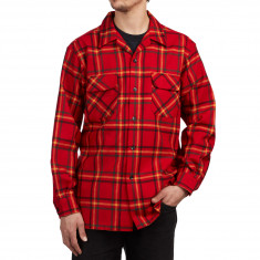 Pendleton Board Long Sleeve Shirt - Rainier Park Plaid