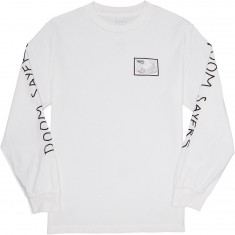 Doom Sayers Inside Out Snake Shake Longsleeve T-Shirt - White